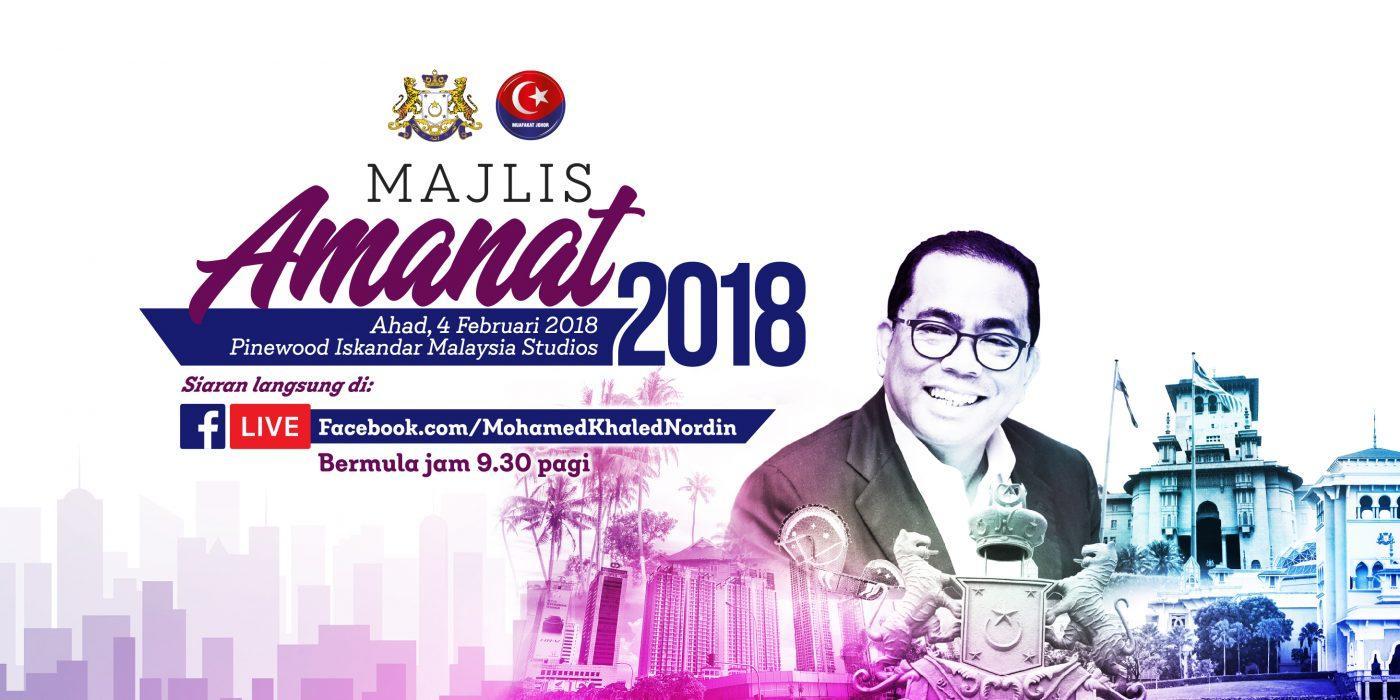 Majlis Amanat 2018